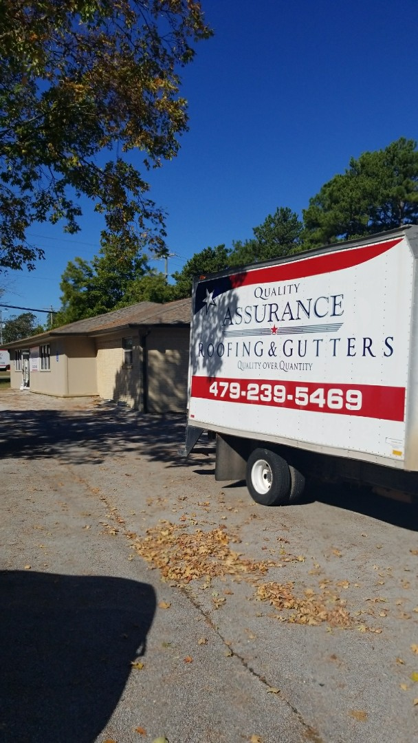 Berryville, AR - Quality Assurance Roofing is now installing Gutters out of our NWA location.