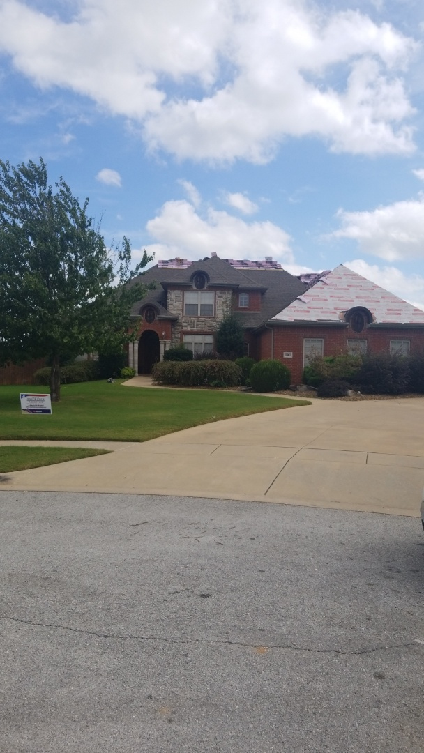 Rogers, AR - Another Customer in Rogers Ar Trusting Quality Assurance Roofing with there Roof Replacement Due to Hail Damage! Don't Assume you're Roof is OK. Call 479-239-5469 for a Free Roof Inspection!