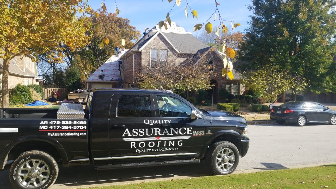 Rogers, AR - With winter looming just around the corner in NWA its Time to Call Quality Assurance Roofing to Address any of You're Roofing Needs! 479-239-5469 Myassuranceroofing.com
