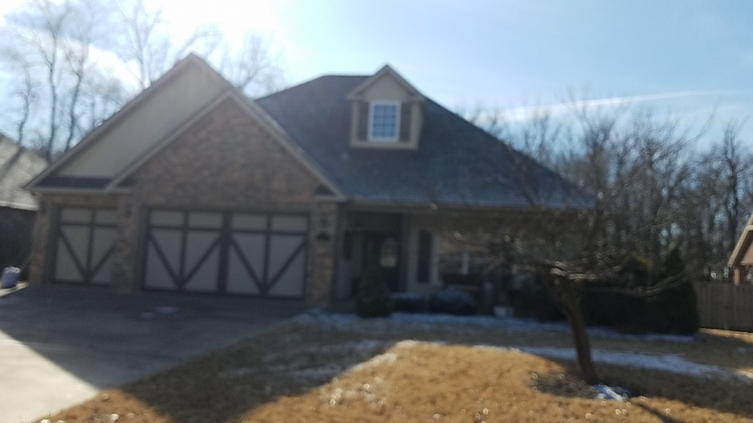 Bentonville, AR - Full roof replacement due to recent storm damage.