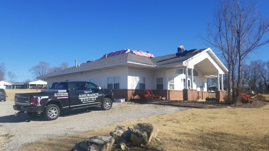 Berryville, AR - Quality Assurance Roofing was able to get the Insurance to pay for a completete roof replacement on Ozark Guidance In Berryville Ar due to Wind Damage. Call Today For Free Inspection on Your Roof. 479. 239.5469 Www.myassuranceroofing.com