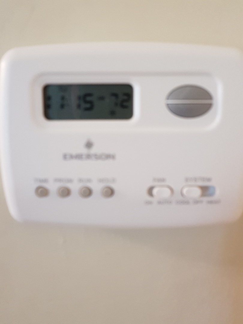 North York, ON - Thermostat install