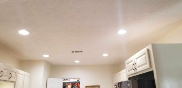 Newnan, GA - Installed new undercabinet lights, new recessed light in pantry and new LED lights in kitchen
