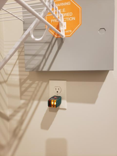 Newnan, GA - Installed additional receptacles inside and outside house