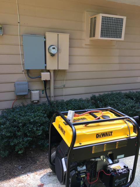Newnan, GA - Installed new generator transfer switch