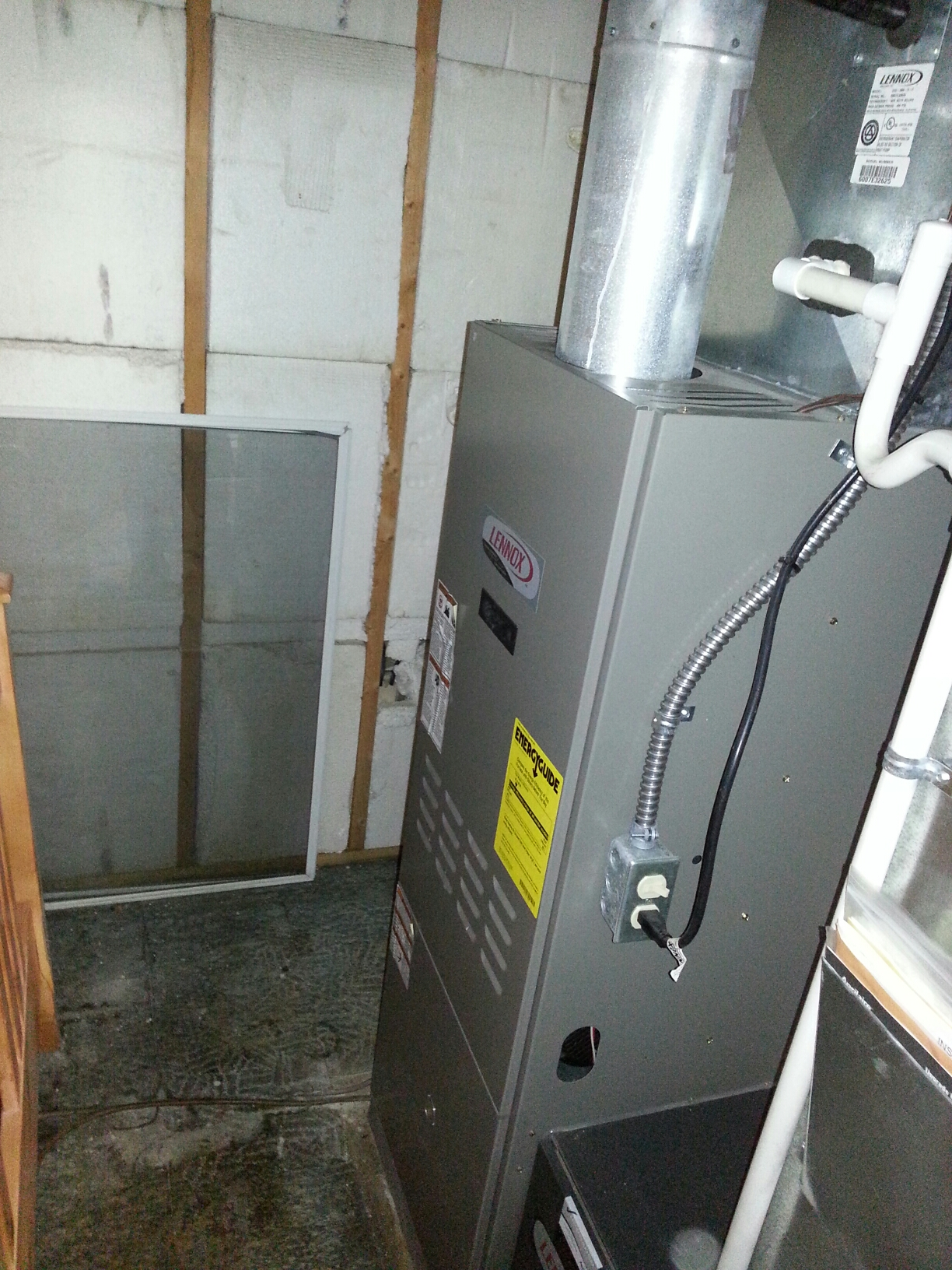 Milford, MI - Lennox oil furnace tune up