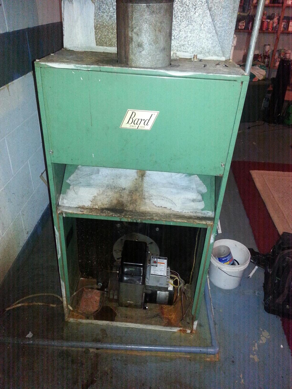 Fowlerville, MI - Bard oil furnace tune-up