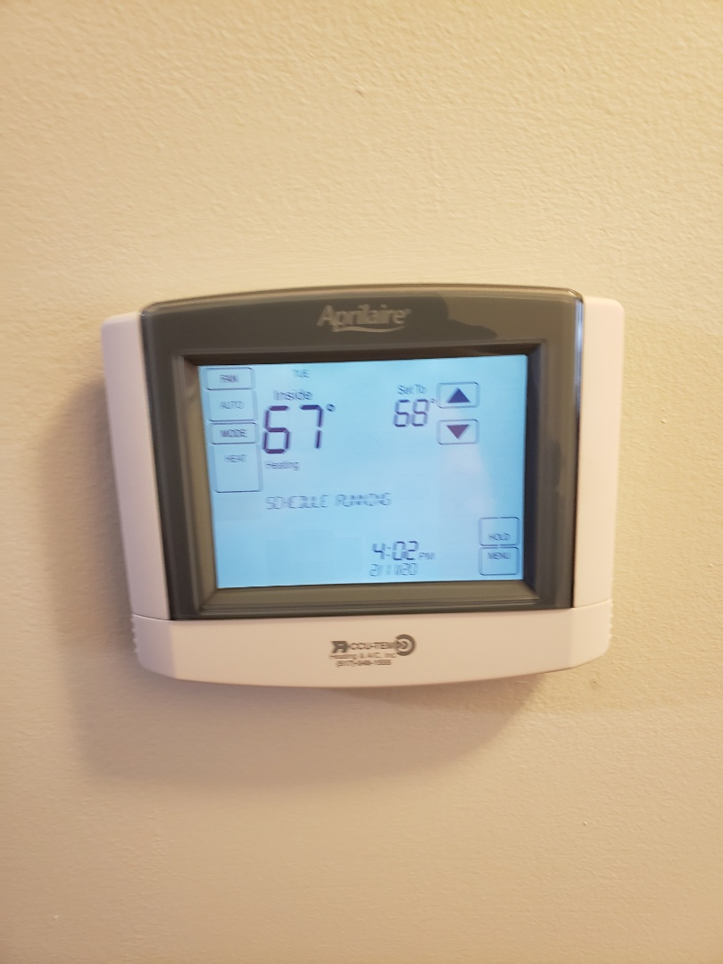 Howell, MI - Install Aprilaire 8600 thermostat.