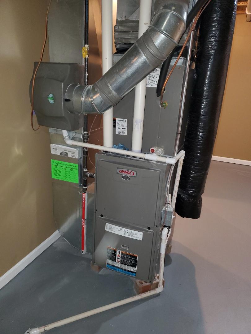 Howell, MI - Clear Lennox ML195 drain blockages.