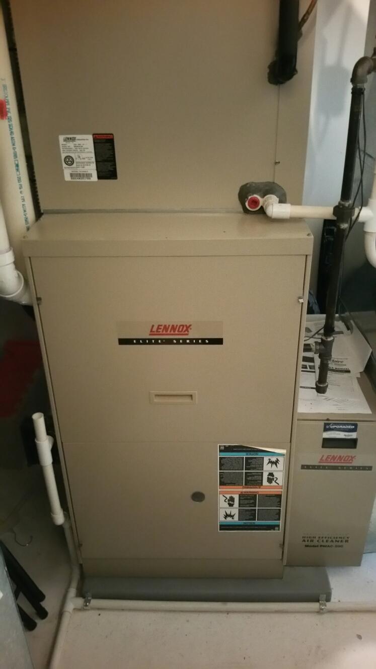 Hartland, MI - Replace lennox G61 inducer assembly.