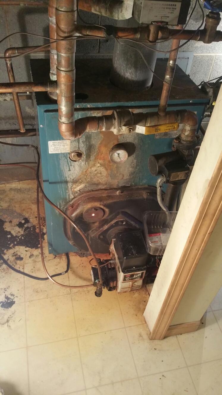 Hartland, MI - Burnham oil boiler repairs