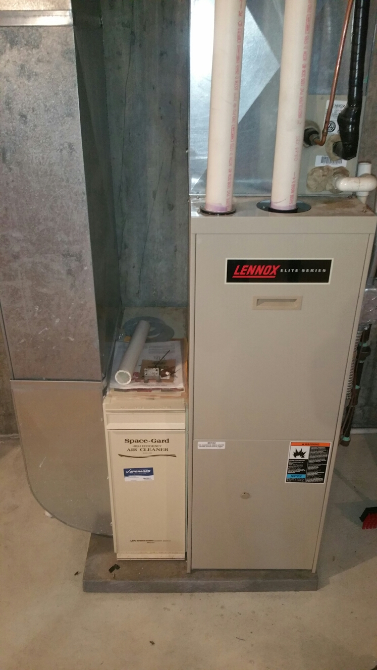 Fowlerville, MI - Replace lennox g32 pressure switch.