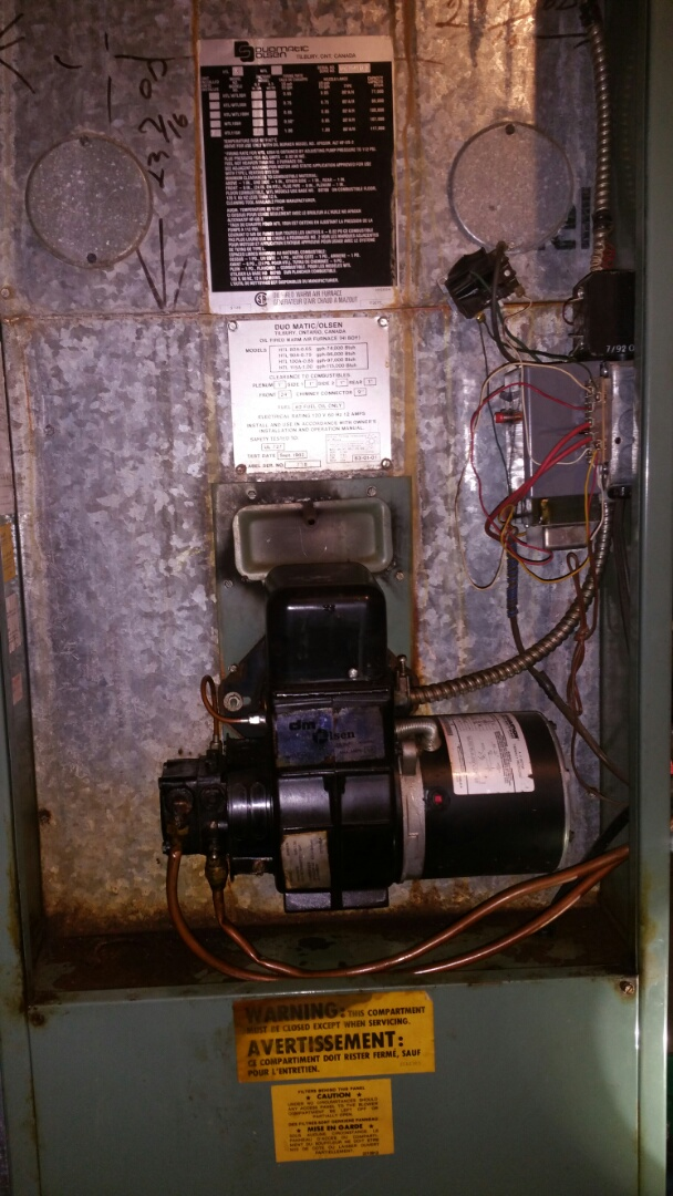 Fenton, MI - Duomatic-olsen oil furnace tune up