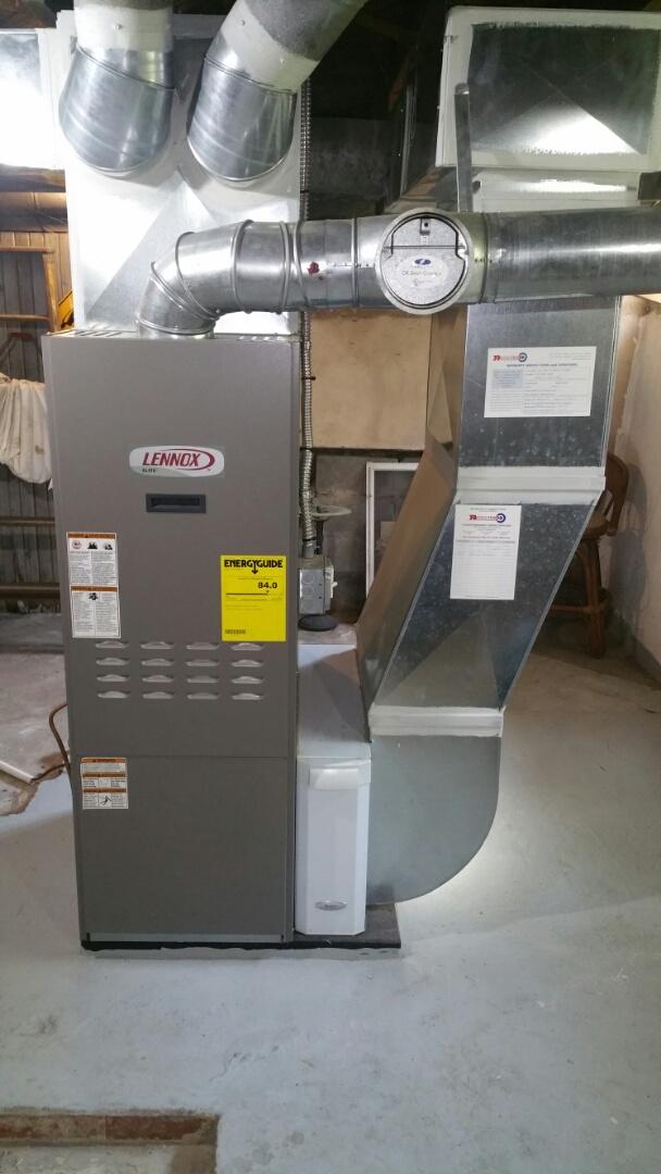 Howell, MI - Lennox oil furnace tune up