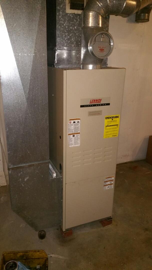 Howell, MI - Lennox O23 oil furnace tune up