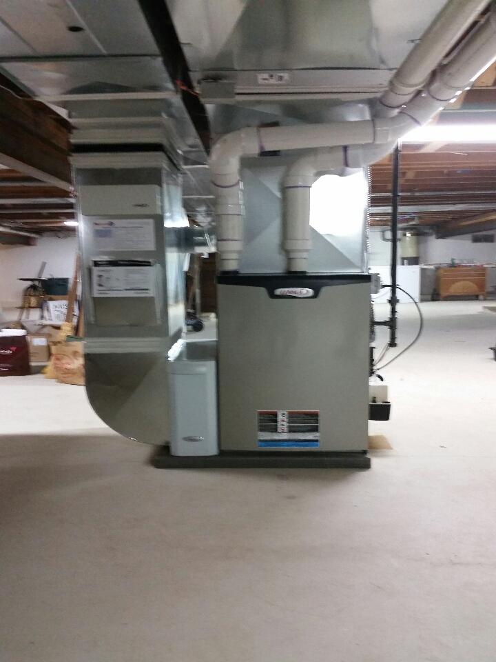 Pinckney, MI - Lennox I-comfort zone install with fully modulating slp98 furnace
