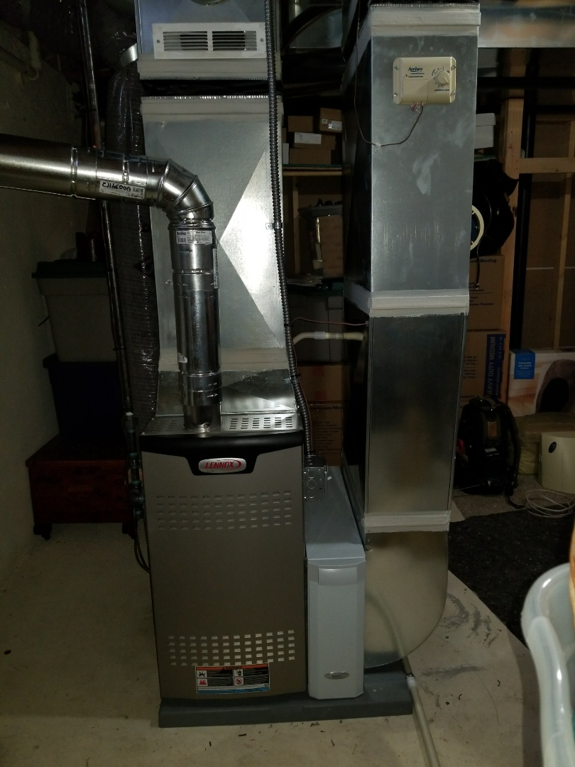 Howell, MI - Lennox furnace installation