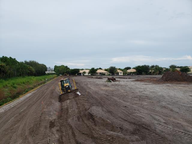 Fort Myers, FL - Casa Del Mar site in progress