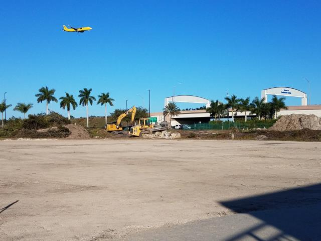 Fort Myers, FL - Started some clearing for a hotel near the RSW Airport.