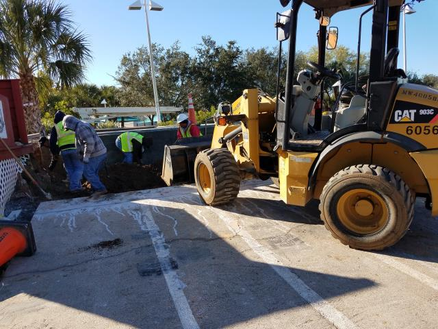 Naples, FL - Rebuilding a ramp at the Naples BMX Golden Gate Community Center