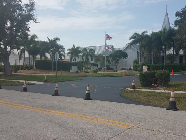 Marco Island, FL - Sealcoating project completed in Marco Island