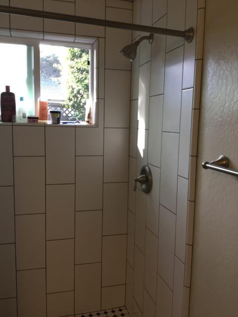 Santa Cruz, CA - Replaced shower cartridge