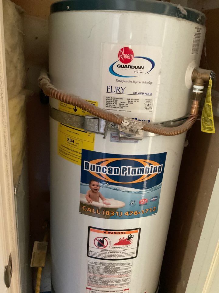 Proposal for new water heater