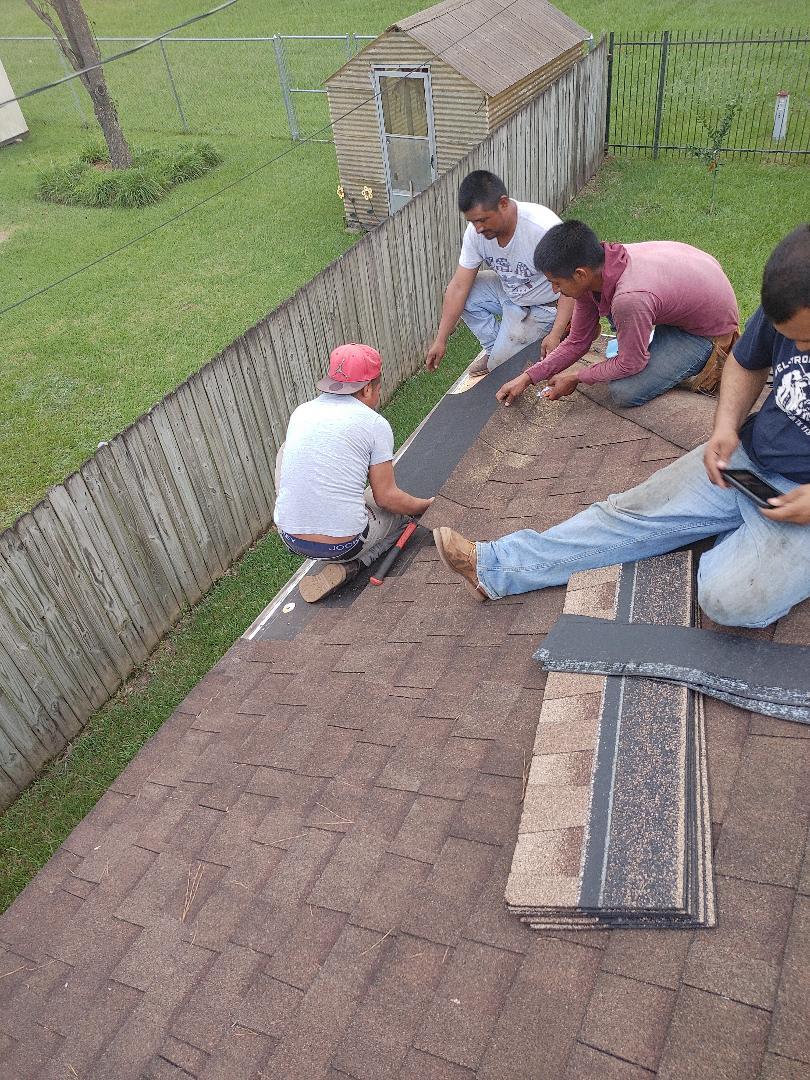 Orange, TX - Roof repair