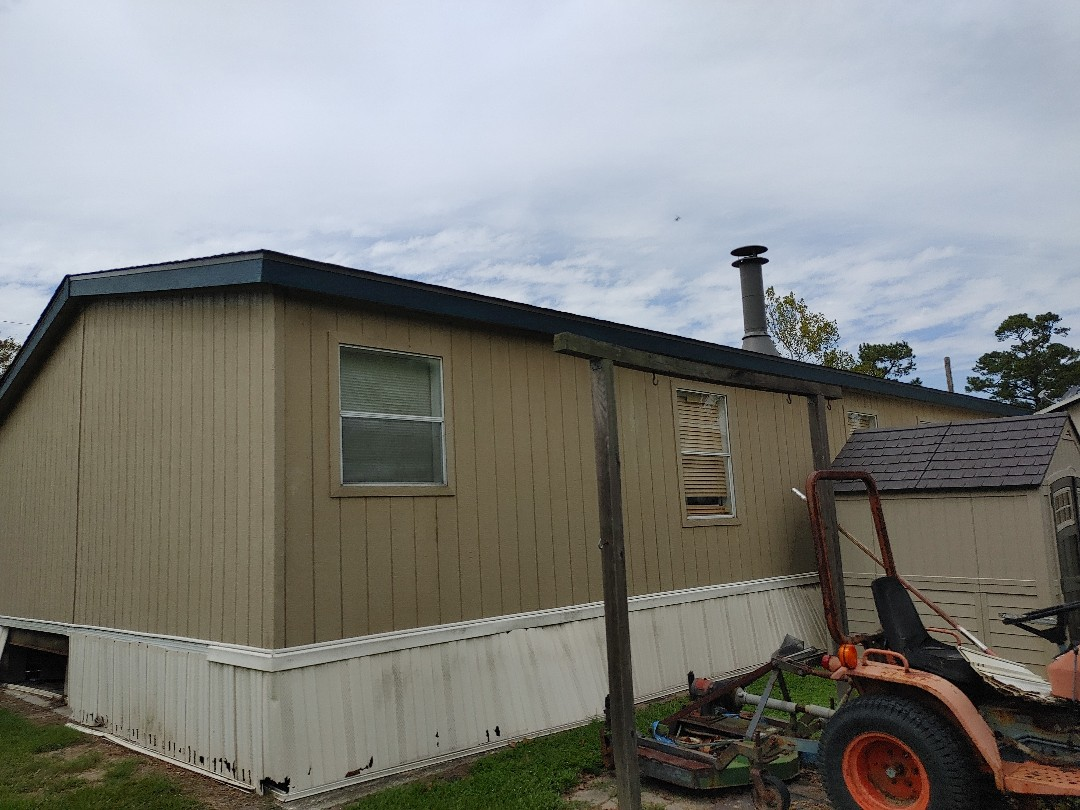 Orange, TX - Manufactured mobile home roof replacement