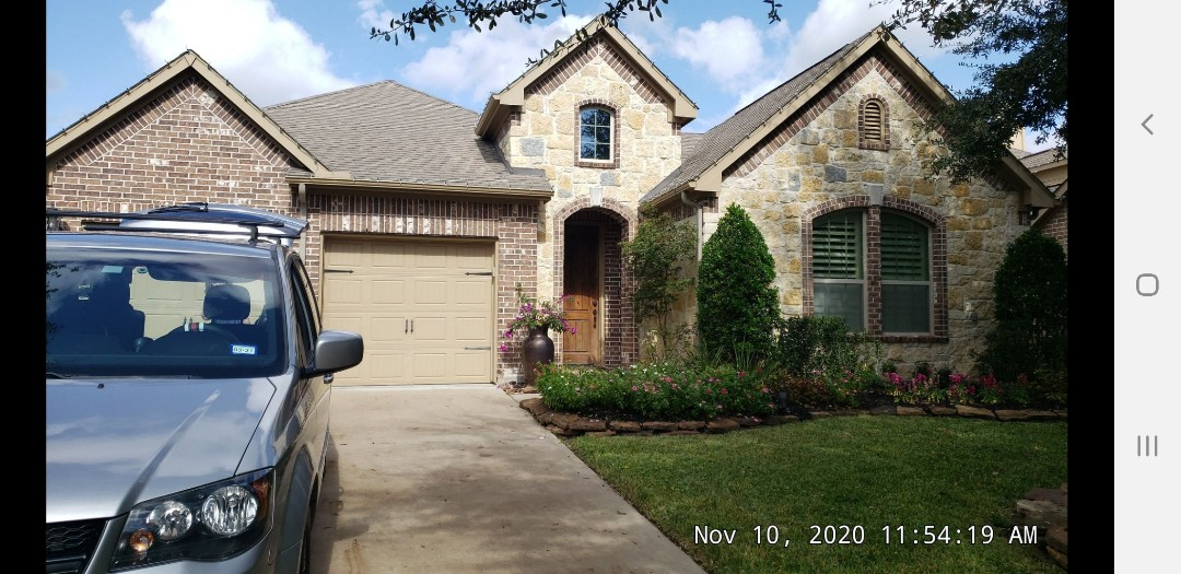 Tomball, TX - Roof leak inspection