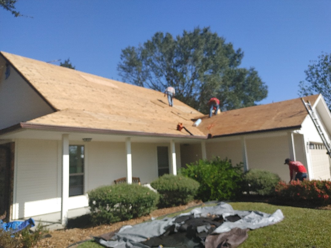 Orange, TX - Roof replacement