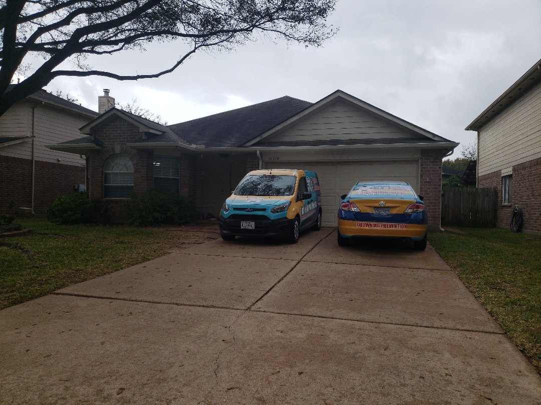Tomball, TX - Roof inspection, storm damage