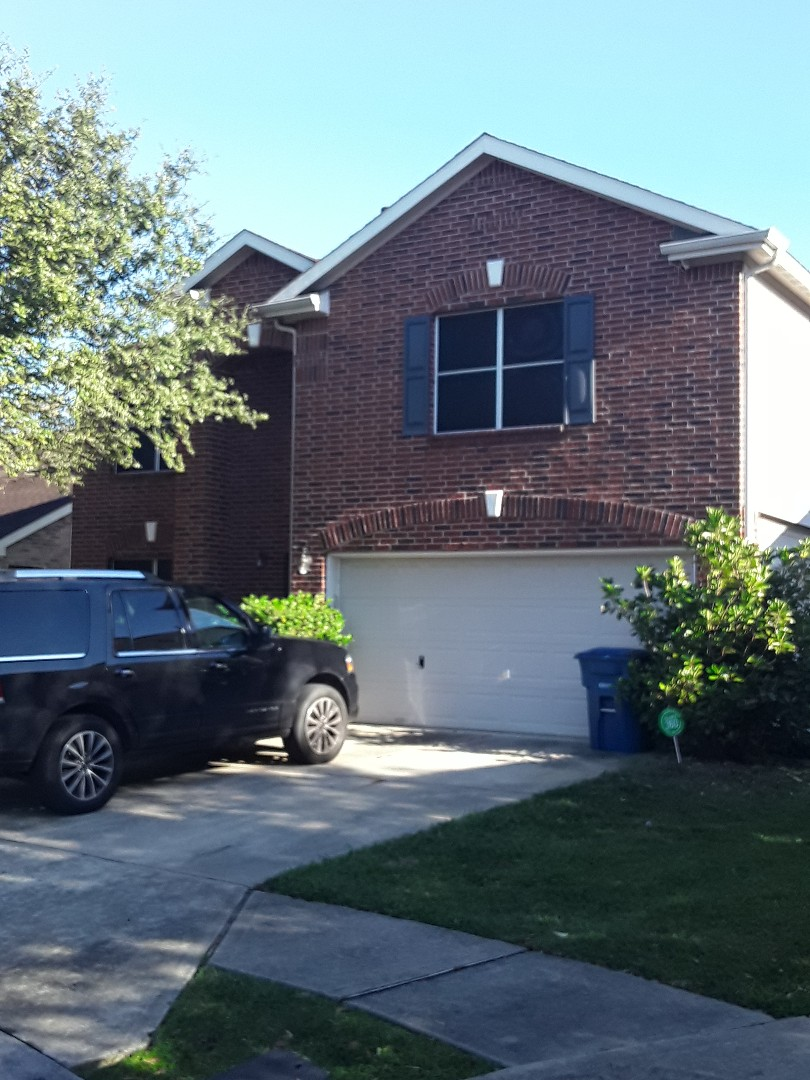 Spring, TX - Customer called with a roof leak. Possible hail damage. Free inspection to check it out!!
