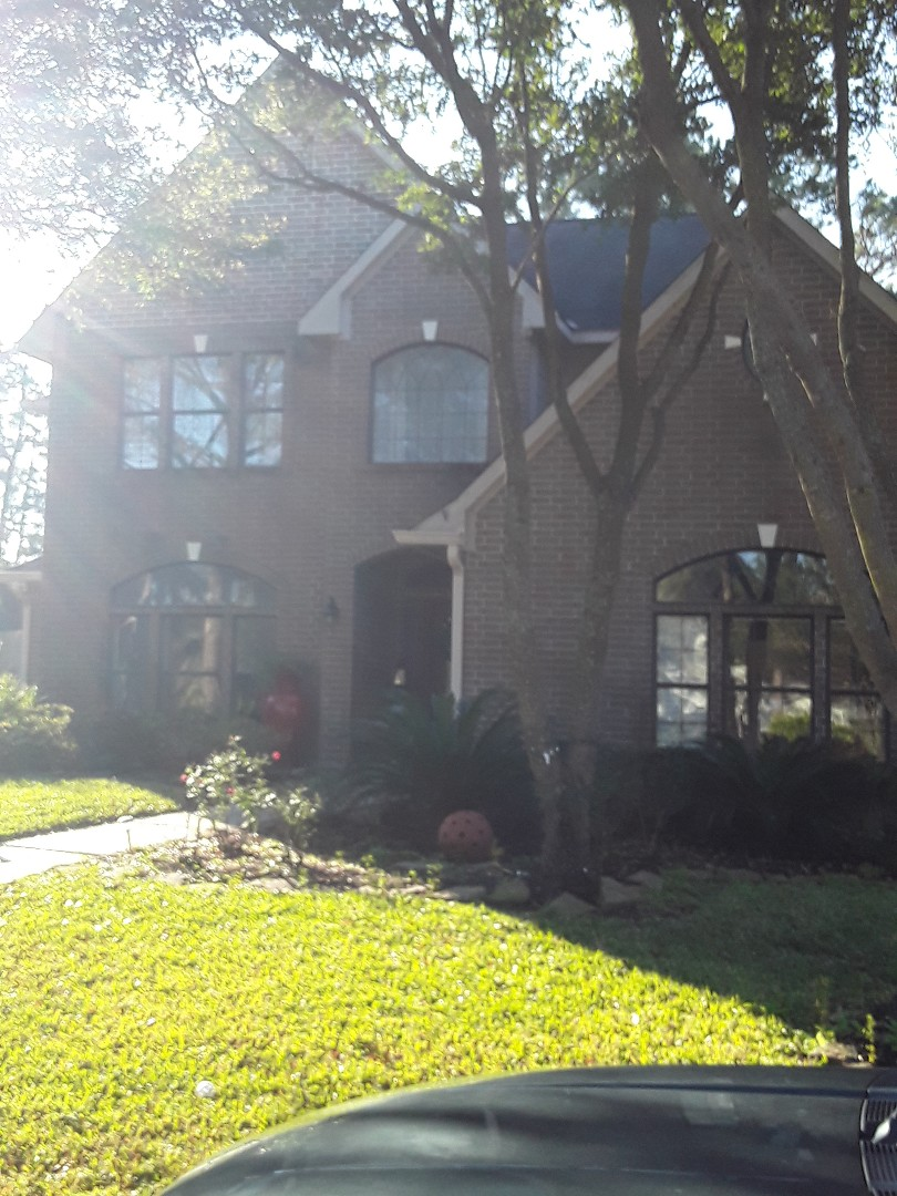 Tomball, TX - Roof leak. Possible hail damage.