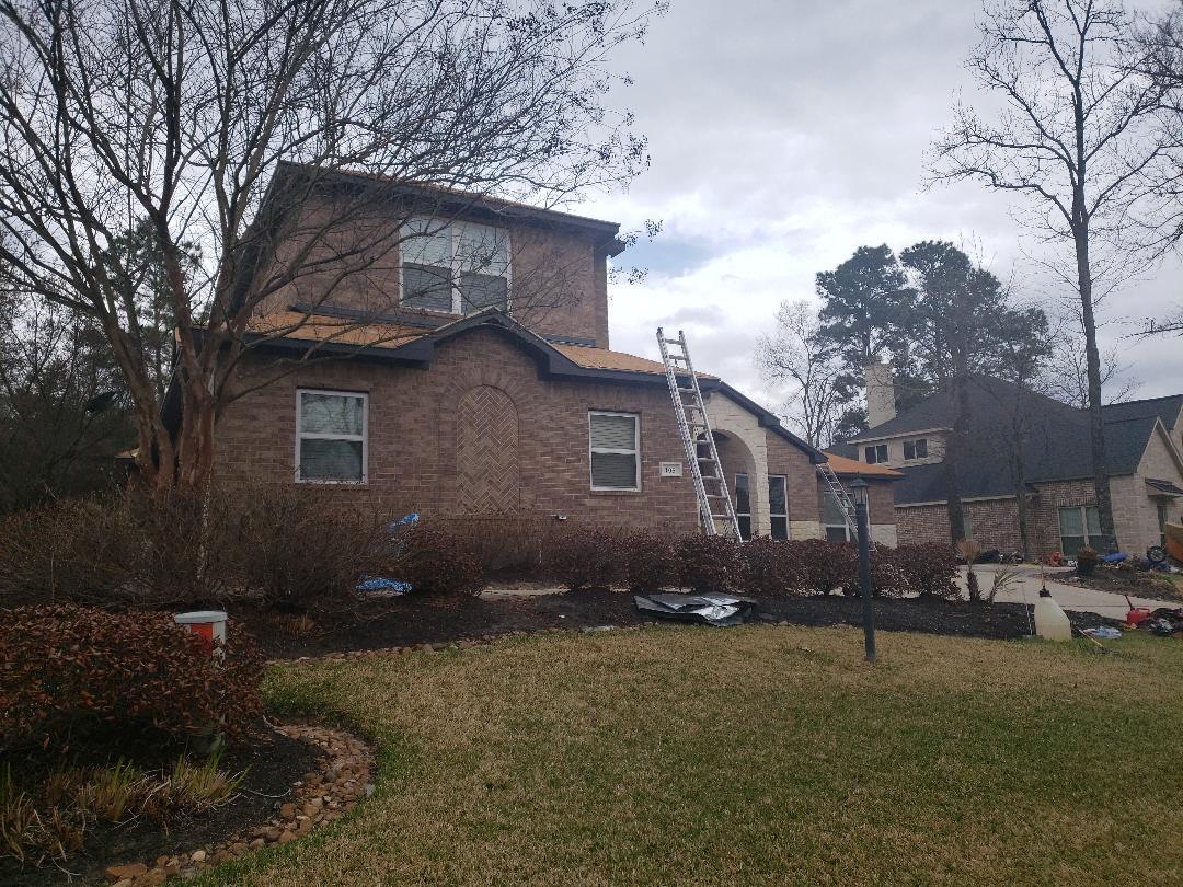 Montgomery, TX - Roof install