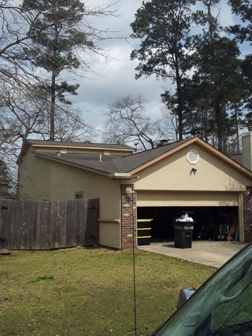 Montgomery, TX - Roof leak inspection in Walden.
