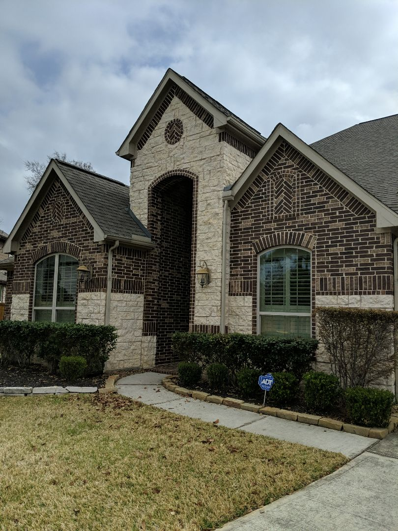 Montgomery, TX - Woodforest subdivision.  Damaged found.