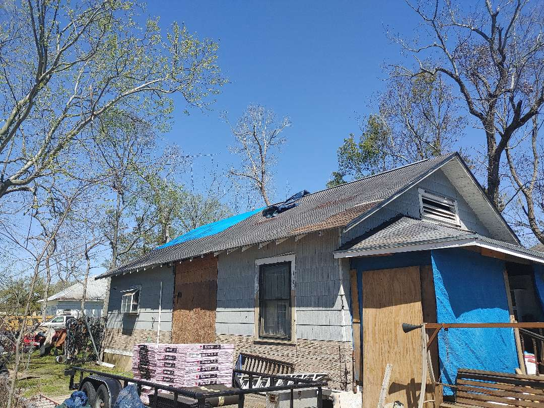 Orange, TX - Hailstorm inspection Free estimates Roof repair or replacement