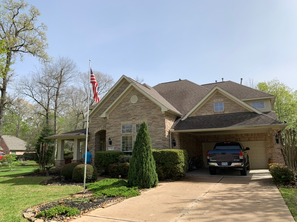 Conroe, TX - Free inspections for hail damages