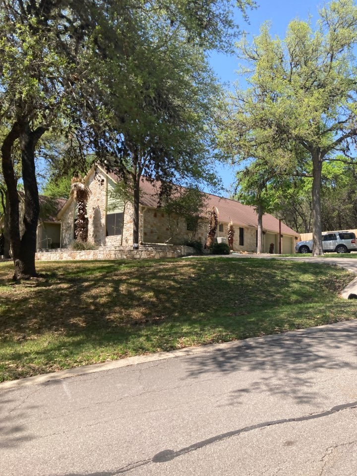 San Marcos, TX - Hail damage to roof. Free roof inspection. Free roof replacement estimate.