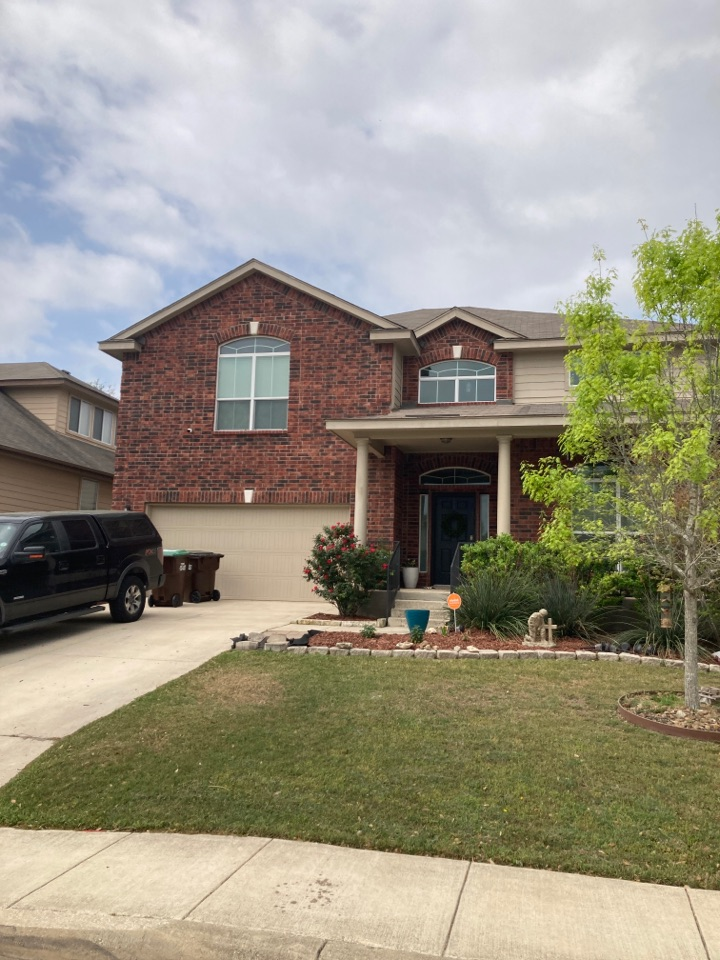 San Antonio, TX - Hail damaged roof.  Free roof inspection.  Free roof replacement estimate.