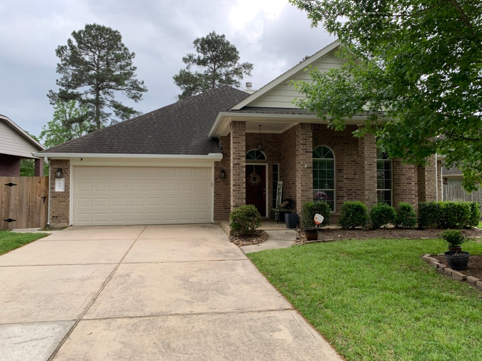 The Woodlands, TX - Inspection for hail damage