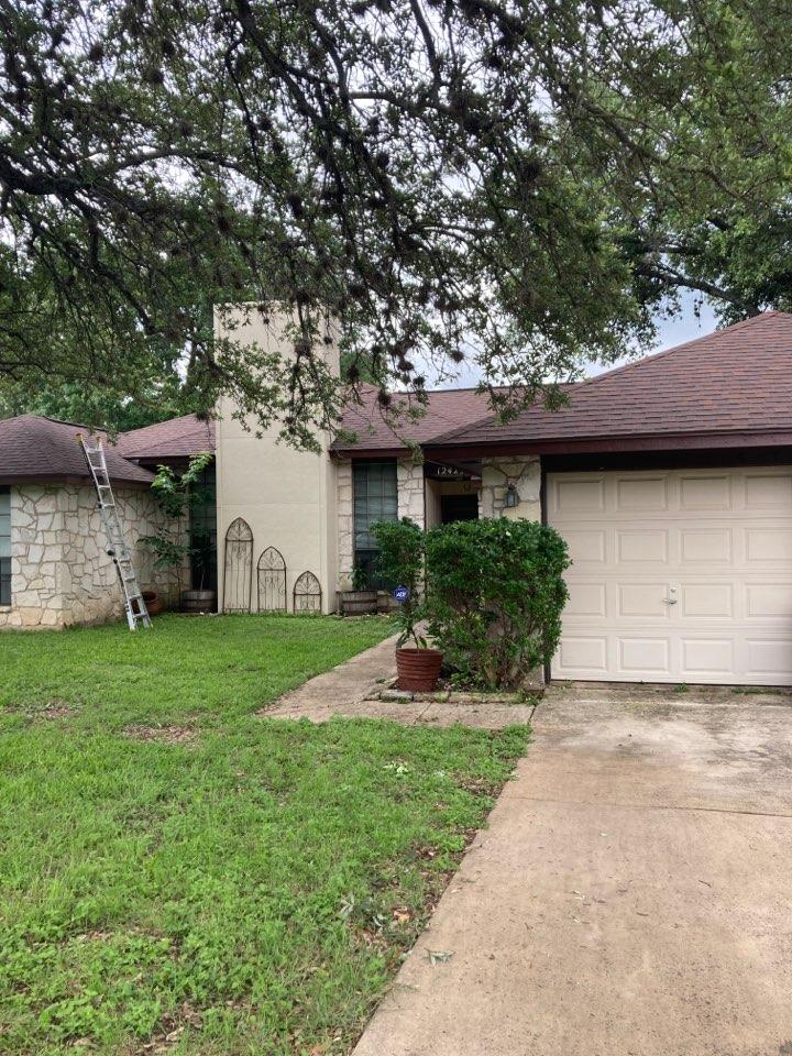 San Antonio, TX - Free roof inspection. Recent hail storm.