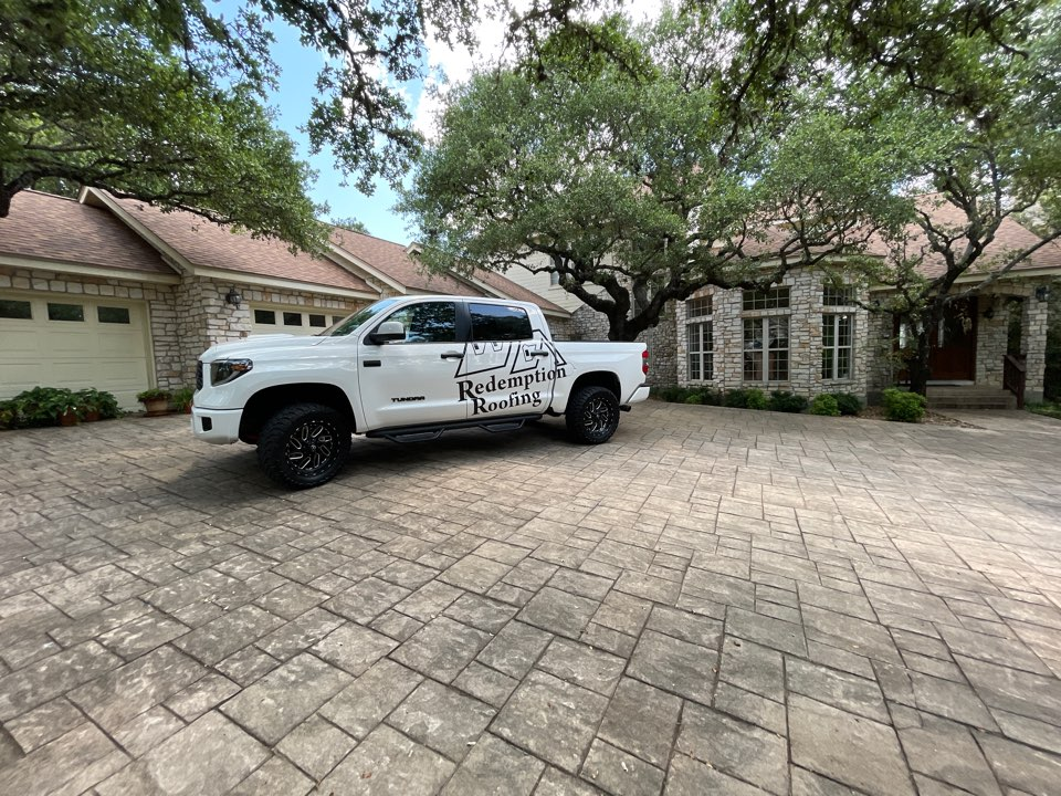 Fair Oaks Ranch, TX - Finished roof out here in fair Oaks Ranch.