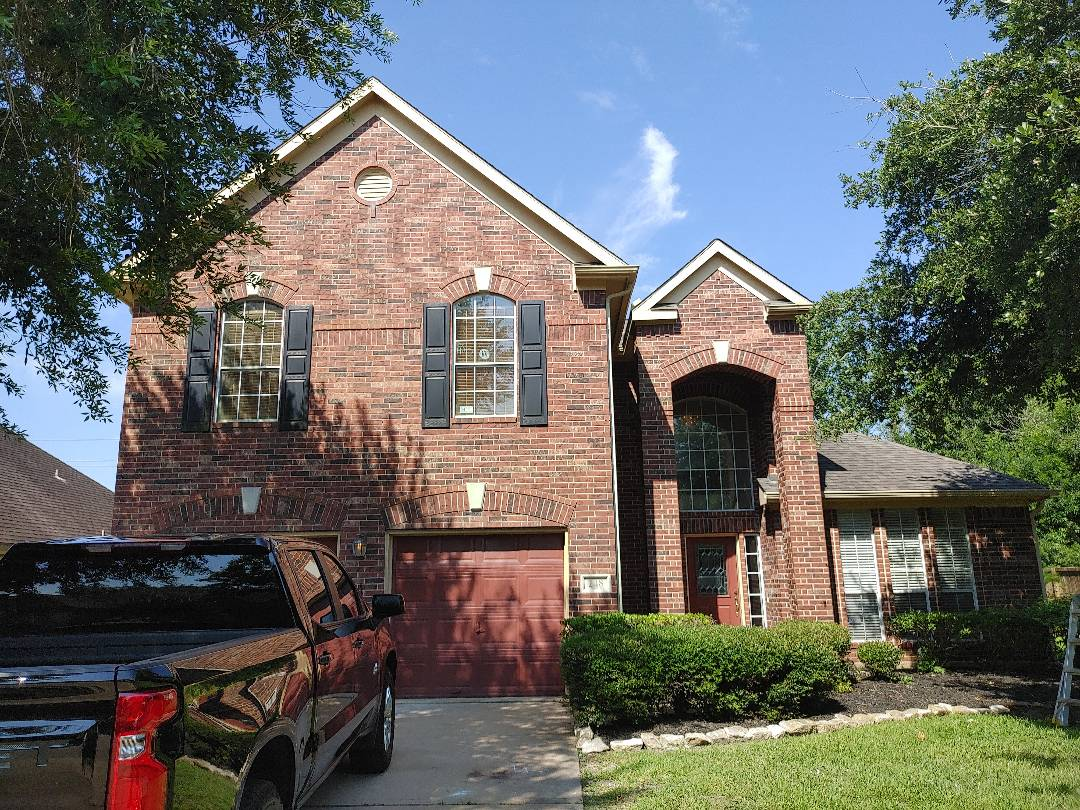 Lake Jackson, TX - Solar power attic fan installation Roofing repair or replacement