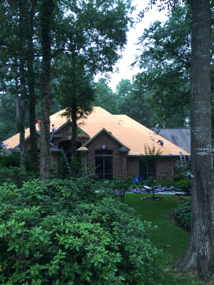 Magnolia, TX - Another quality installation here at Redemption Roofing