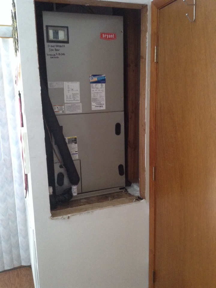 hook up central air unit If you have an old central air system or forced air heat, your contractor can connect new ac equipment to the ducts that already exist inside the.