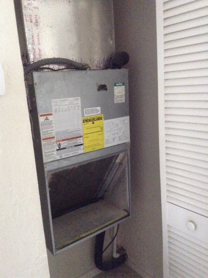 Seminole, FL - RHEEM air handler freezing up not cooling properly.