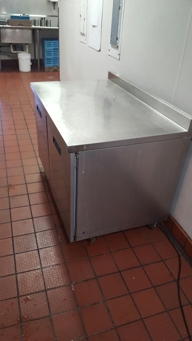 Largo, FL - Randell 2 door reach in freezer freon leak repair.