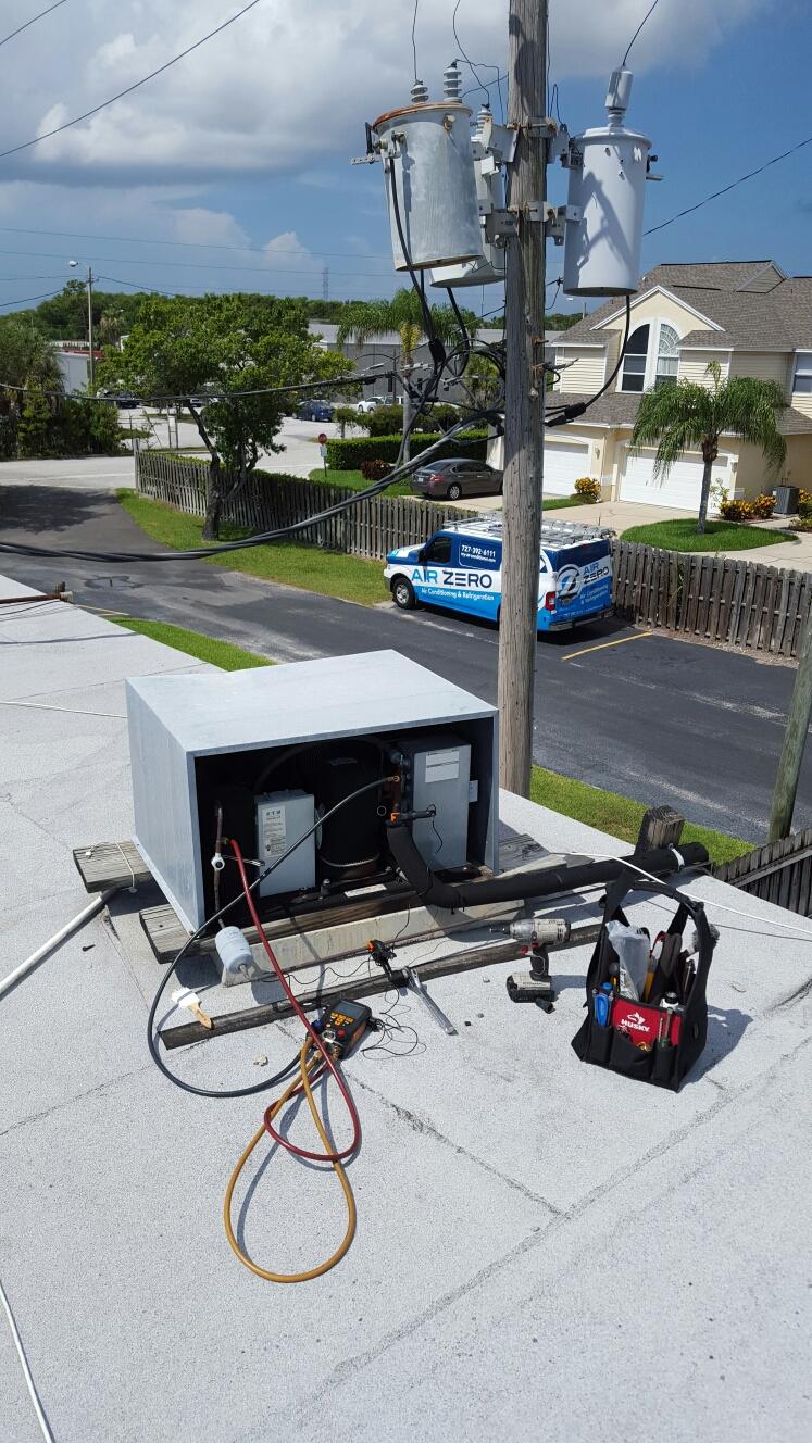 Largo, FL - Copeland walk in cooler condenser not operating.